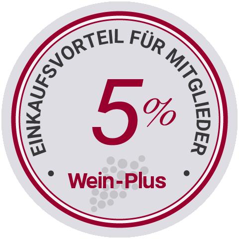 Einkaufsvorteil für Wein-Plus Mitglieder